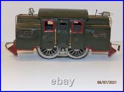Lionel Standard Gauge Prewar 38 Center Cab Electric Locomotive