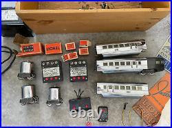 Lionel Trains Prewar Flying Yankee and 617, 617 and 618 Lot O-Gauge Vintage Rare