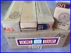 Lionel prewar 1935 UP Streamliner Boxed Set #751W Yellow & Brown 752W 753 754