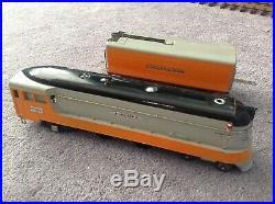Lionel prewar 1937 The HIAWATHA 250E, 250WX, 782, 783, 784, Nice Orig. Condition