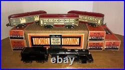 Lionel prewar 234E Passenger Set (1934) with Original Boxes and Set Box! Wow