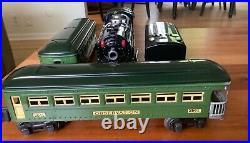 Lionel prewar 249e 2640 2641 passenger set 1930s tinplate vintage 262 257 265