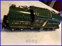 Lionel prewar 381E, two toned Green State Set, Standard Gauge