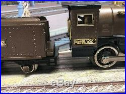 Lionel prewar Classic Early 258 Engine and Tender, Very Nice, Runs Great
