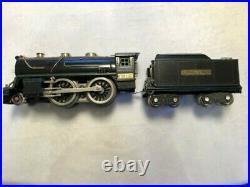 Lionel prewar standard gauge 384E engine and tender