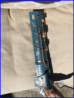 Lionel prewar standard gauge 400E Cab, blue original no repaint C-8
