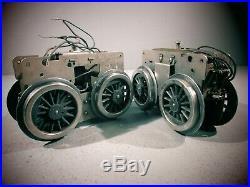 Lot Of 2 Lionel Prewar Standard Gauge 402 & 408 Locomotive Super Motors