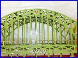 MTH 10-1015 #300 Hellgate Bridge Standard Gauge Metal New Boxed Cream/Green C9+