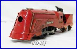 Original 1935 Lionel Mickey Mouse Disney Circus Train with Barker Mickey + Stoker