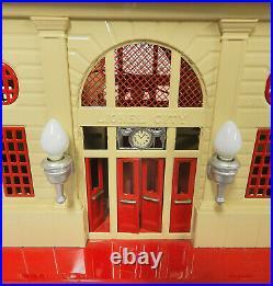 Original 1936 Lionel City #116 Double Station Near Perfect Pre- War O Scale