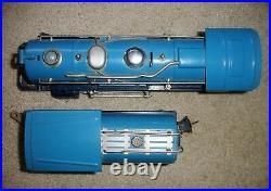 Original Lionel Prewar 263e O Scale Blue Comet Steam Engine & Tender