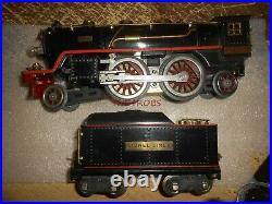 Original Lionel Prewar 390E Steam Locomotive & 300T Tender Standard Gauge