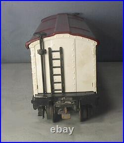 Original RARE Lionel Prewar # 2814 O Gauge REEFER CAR +HEAT STAMPED + MORE