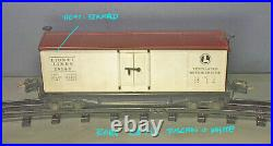 Original SUPER RARE Lionel Prewar # 2814 O Gauge REEFER CAR + HEAT STAMPED