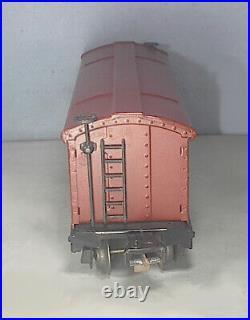 Original SUPER RARE Lionel Prewar # 813 O Gauge Stock Car RUBBER STAMPED