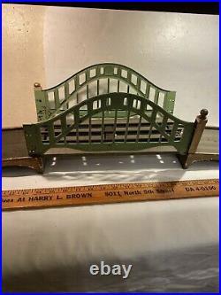PRE-WAR LIONEL STANDARD GAUGE-NO. 100 BRIDGE & 2 TRACK Approaches- Rare Set Train