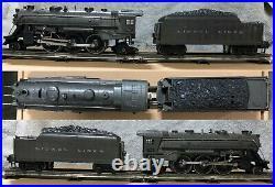 Pre-war Lionel O-gauge Train Loco, Tender, various cars, track, transformer