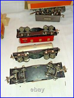 Prewar Lionel 1070 Junior Freight Train Set with Box and Boxes