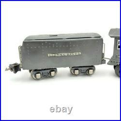 Prewar Lionel 249E Loco 265W Whistle Tender Gunmetal O Gauge Lionel Lines 1936