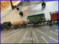 Prewar Lionel 259E 2-4-2 Steam Engine Freight Cars O gauge model train set