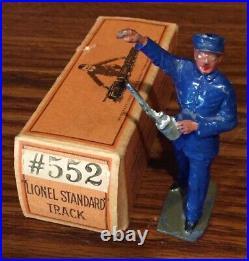 Prewar Lionel Standard Gauge #552 Seperate Sale Engineer With Box Vintage. M7