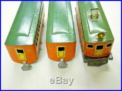 Prewar Lionel Winner Lines Boxed Train Set 1000 1931-2 1010 Loco 2 1011 Coaches