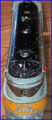 Prewar lionel O gauge 250E Hiawatha engine and tender