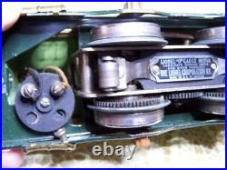 Rare Lionel Prewar Stephen Girard 254E Electric Engine Tested red letters nice