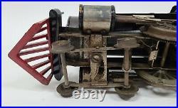 Rare VTG Lionel Prewar Standard Gauge #5 Steam Engine & Tender Locomotive Train