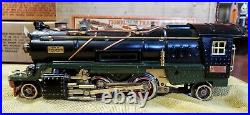 Used Lionel 1930's Prewar No. 260E O Gauge Locomotive and Tender withBoxes & Flags
