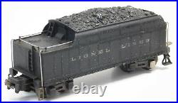 Used Prewar Lionel 224E Steam Locomotive withGreen Pullman Passenger Cars (No Box)