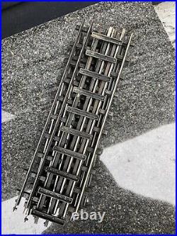VINTAGE LIONEL PRE WAR T-RAIL No771 STRAIGHT SECTIONS TRACK ORIGINAL 10pcs