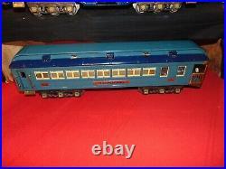 Very Nice Lionel Original Prewar Blue Comet Set #376E