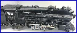 Vintage LIONEL Prewar 225E Locomotive With 2666w Whistle Tender O Guage/scale