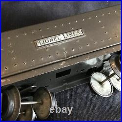 Vintage Lionel 1073E Prewar 1668E Torpedo Freight Set In Boxes 1679, 1680, 1682