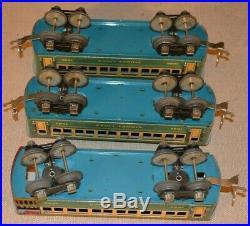 Vintage Lionel 1692 Prewar Uncataloged Litho 1930s O ga Car Set Original Sears