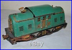 Vintage Lionel Train Lot Prewar Standard Gauge 332 341 339 309 Super Motor