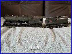 Vintage Lionel prewar O scale 763e gunmetal Hudson in very nice condition