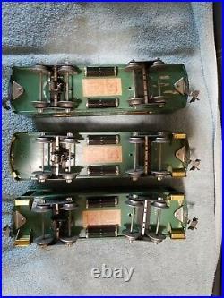 Vintage Lionel prewar standard gauge 10e set with the set box