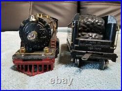Vintage Lionel prewar standard gauge 390e withtender Good condition