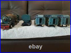 Vintage Lionel prewar standard gauge 400e blue comet set in excellent condition