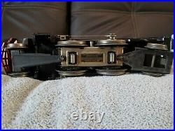 Vintage Lionel prewar standard gauge black 1835 withtender in excellent condition