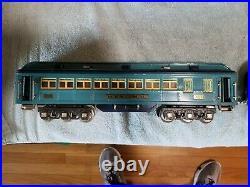 Vintage Lionel prewar standard gauge blue comet cars Originals