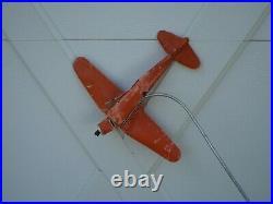 Vintage Prewar LIONEL #50 AIRPLANE & PYLON & CONTROLLER 115v tower Antique toy
