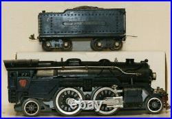 Vintage Prewar Lionel Standard Gauge No. 1835E Steam Engine & Tender C7