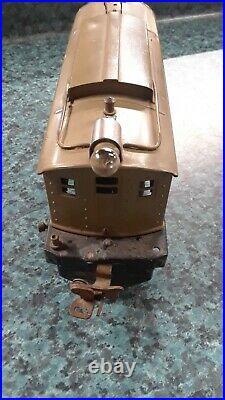 Vtg Pre-war Lionel #253 Electric Train Engine Locomotive Original Green